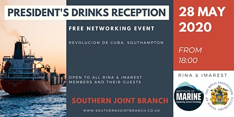 Southern Joint Branch President's Drinks Reception tickets