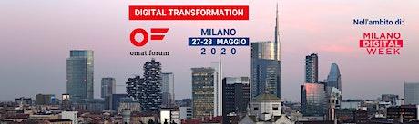 omat forum MILANO  - 27-28 maggio 2020 biglietti