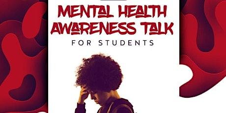 Mental Health Awareness Talk tickets