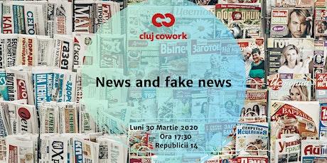 News and fake news |Talk tickets