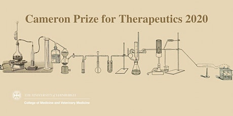 Cameron Prize for Therapeutics award lecture tickets