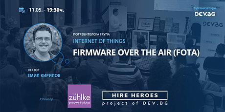 Webbinar: IoT: Firmware Over The Air (FOTA) tickets