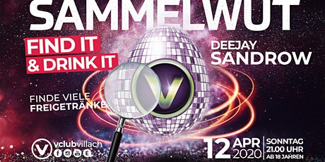 Sammelwut - Find it & Drink it presented by DJ San-Drow Tickets