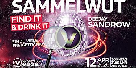 Sammelwut - Find it & Drink it presented by DJ San-Drow biglietti