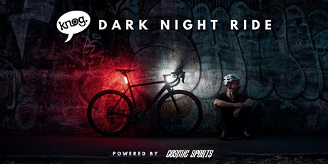 Knog Dark Night Ride @ Just Pedal - LET OP: Nieuwe datum = 17 april tickets