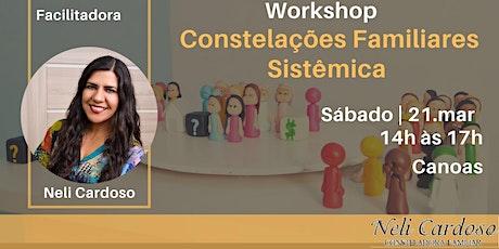 WORKSHOP DE CONSTELAÇÃO FAMILIAR SISTÊMICA ingressos