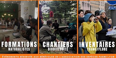 Actions Référents Biodiversité Urbaine #bénévoles billets