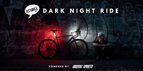 Knog Dark Night Ride @ MadMen. LET OP EVENT IS UITGESTELD! tickets