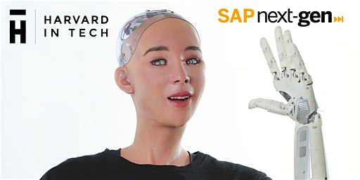 Sophia the Robot Appears at the Harvard in Tech: The Future of AI