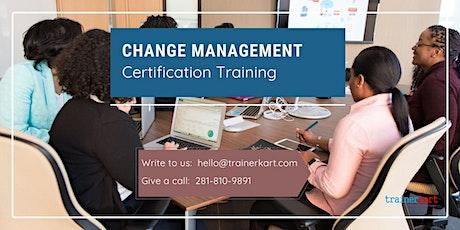 Change Management Training Certification Training in Grande Prairie, AB tickets