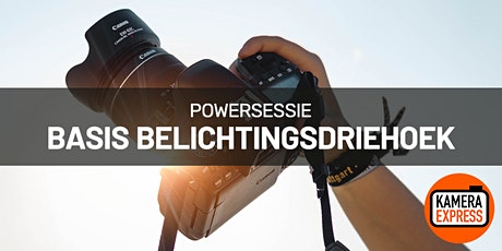 Powersessie Basis Belichtingsdriehoek in Turnhout tickets