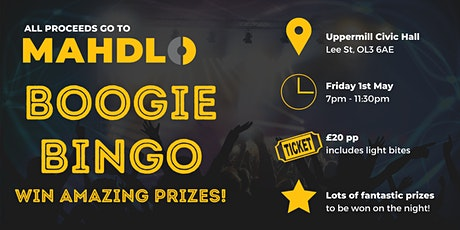 Boogie Bingo - Postpponed until late 2020 tickets