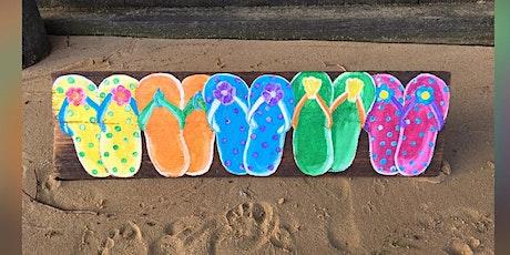 Flip Flops: La Plata, Greene Turtle with Artist Katie Detrich! tickets