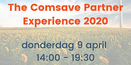 Comsave Partner Experience 2020 tickets