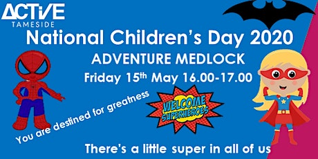 Active Tameside Superhero  Activity Session tickets