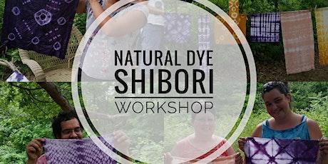 Natural Dye Shibori Workshop tickets