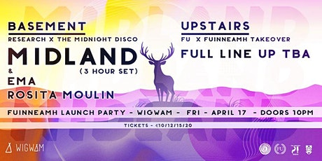 Fuinneamh Festival Launch: Midland, EMA, FU + lots more tickets