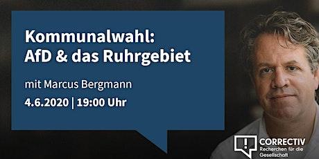 Kommunalwahlen: die AfD & das Ruhrgebiet tickets
