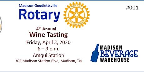 4th Annual Wine Tasting tickets