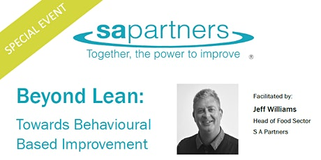 Beyond Lean - Towards Behavioural Based Improvement in the FOOD Sector tickets