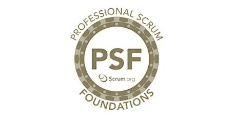 Professional Scrum Foundations - SP Online  ingressos