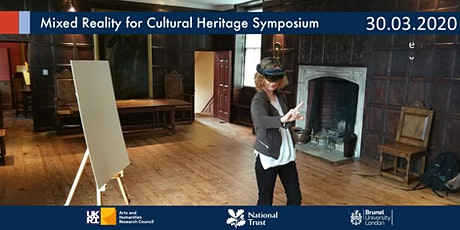 Mixed Reality in Cultural Heritage Symposium tickets