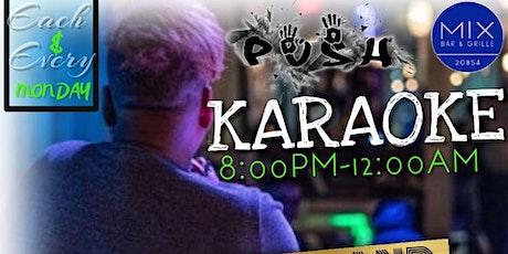KARAOKE LIVE BAND ON MONDAYS! HOW FUN! tickets