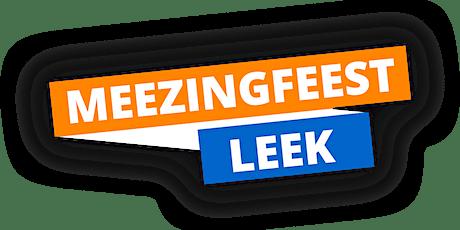 Meezingfeest Leek 2021 tickets