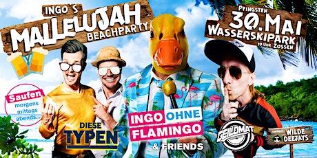 Ingo´s Mallelujah Beachparty Tickets