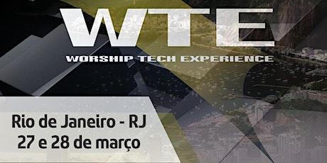 Worship Tech Experience Rio de Janeiro 2020 ingressos