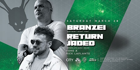 POSTPONED Branzei x Return of the Jaded at White Rabbit tickets