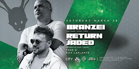 POSTPONED Branzei x Return of the Jaded at White Rabbit tickets