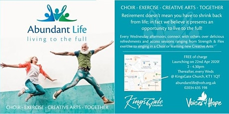 ABUNDANT LIFE - Living  To The  Full  - FREE EVENT  INVITATION  in Kingston tickets