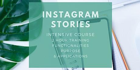 An Instagram Stories Workshop tickets