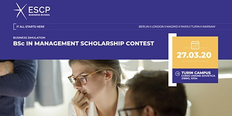 BSc in Management Scholarship Contest biglietti