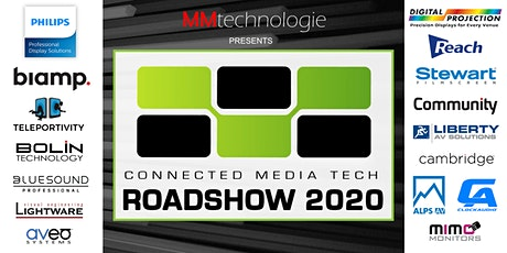 MM Technologie presents THE CM TECH ROADSHOW 2020 billets