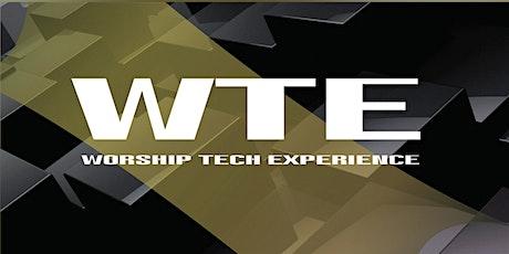 Worship Tech Experience Aracaju 2020 entradas