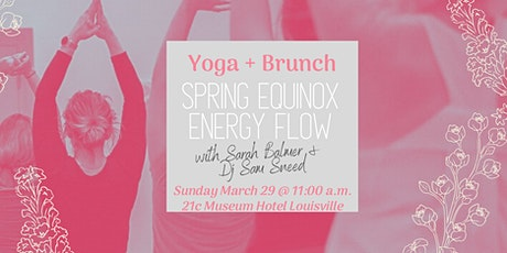 CANCELED: Yoga + Brunch: Spring Equinox Flow with Sarah Balmer tickets