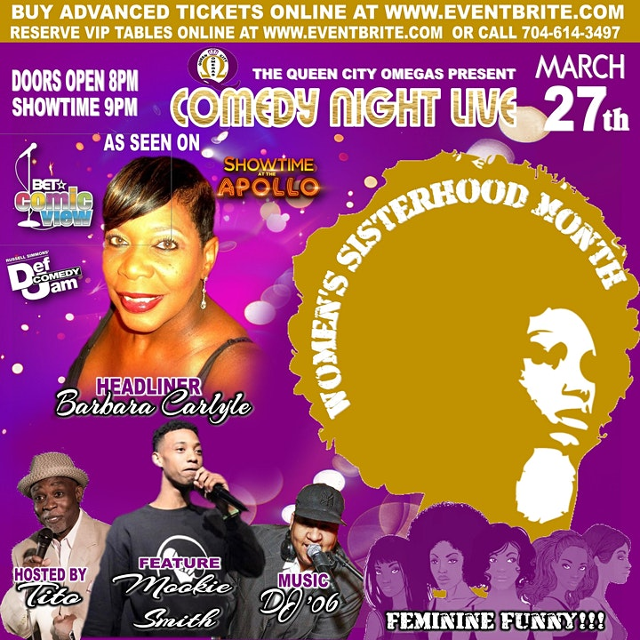 Queen City Omegas Comedy Night image