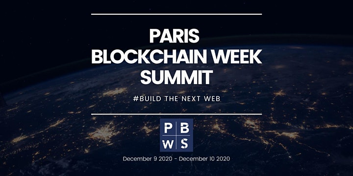 PARIS BLOCKCHAIN WEEK SUMMIT 2020 image