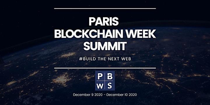 PARIS BLOCKCHAIN WEEK SUMMIT 2020 image