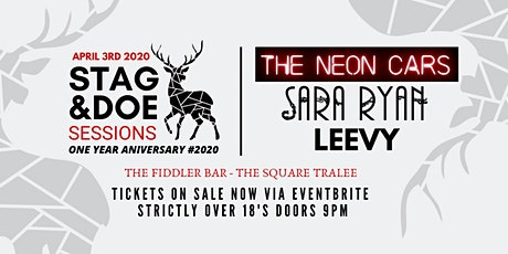 Stag & Doe Sessions Presents The Neon Cars, Sara Ryan and Leevy tickets