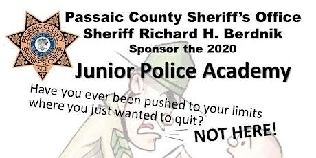 Passaic County Sheriff's Office Junior Police Academy 2020 tickets