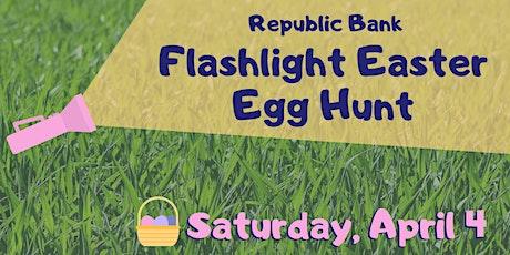 REPUBLIC BANK FLASHLIGHT EASTER EGG HUNT AT VISSING PARK tickets