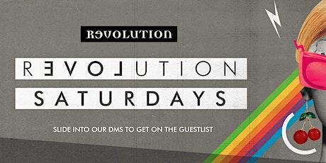 Revolution Saturday tickets