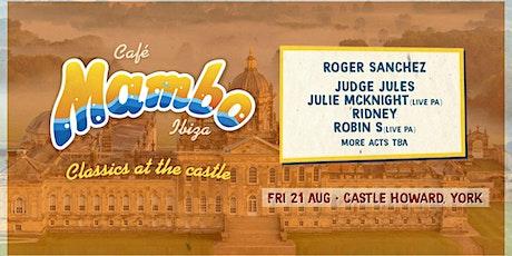 Cafe Mambo Ibiza - Classics At the Castle - York tickets
