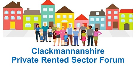 Clackmannanshire Private Rented Sector Forum tickets