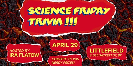 SciFri Trivia Night: Playing with Fire tickets