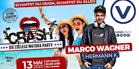Crash - die geilste Matura Party Kärntens Tickets