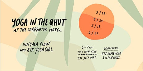 YOGA  IN THE Q-HUT tickets